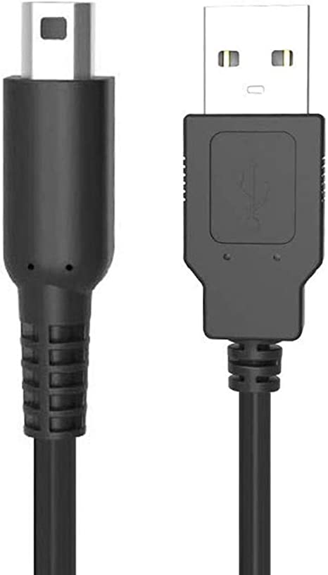 Amazon.com: DSi - Cable cargador USB para Nintendo 3DS XL ...