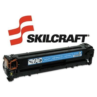 Skilcraft - Remanufactured Cb541a (125A) Toner 1500 Page-Yield Cyan Product Category: Imaging Supplies And Accessories/Copier Fax & Laser Printer Supplies by Skilcraft (Page Copier Cyan)