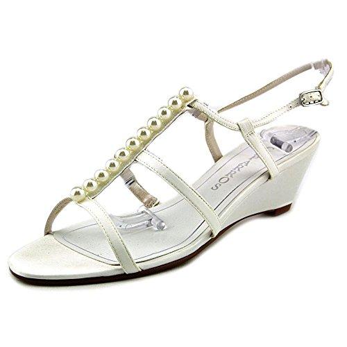 Caparros Sullivan Femmes Us 7.5 Sandale Compensée Ivoire