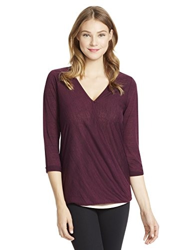 d167304a4fe44 Jessica Simpson 3/4 Sleeve Pull Over Wrap Nursing Top - Buy Online ...