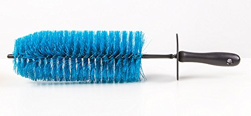 SaferCCTV Car Wheel Tire Cleaning Hub Brush Professional Vehicle Truck Motorcycle Bike Wash Washing Cleaning Tool Blue by SaferCCTV