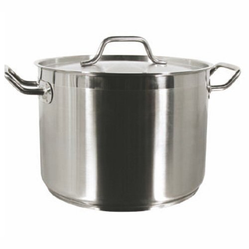 100 Quart Stock Pot with Lid Stainless Steel