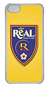 Creative GOOD 5C Case, iPhone 5C Case, Personalized Hard PC Clear Shoockproof Protective Case Cover for New Apple iPhone 5C - Real Salt Lake