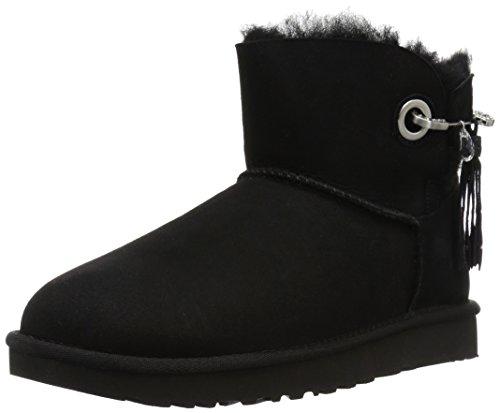 Ugg Australia Ladies W Josey Snow Boots, Grigio (geyser) Nero (nero Nero)