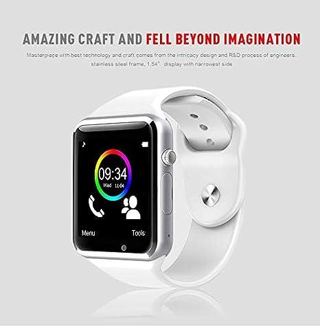 Amazon.com: Smart Watch, Bluetooth Smartwatch Color Screen ...