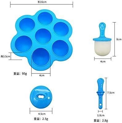 para hacer helados y helados 2 Pair YNOUU Moldes de silicona para hacer helados y helados reutilizables