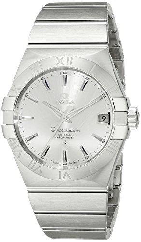 Omega Men's 123.10.38.21.02.001 Constellation Silver Dial -