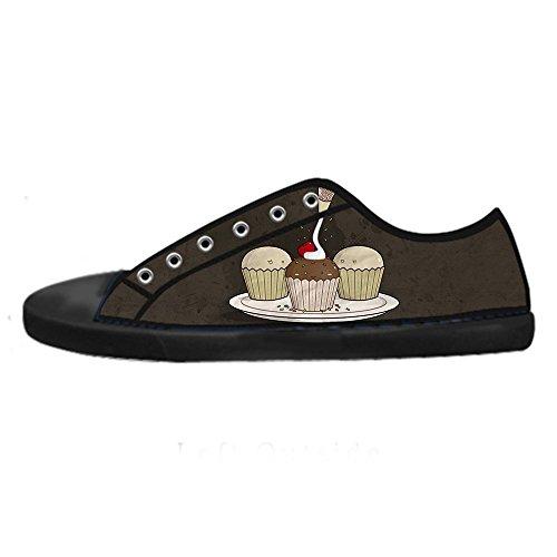 Tela Bign¨¦ Custom Ginnastica Delle Le Men's Shoes Di Scarpe Alto Canvas In I Lacci Sopra Dolce Da xRnap