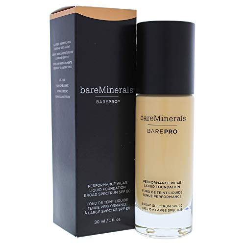 bareMinerals Barepro Performance Wear Liquid Foundation SPF 20 17 Camel for Women, 1 Ounce