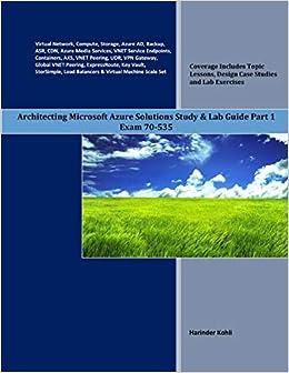 Amazon com: Architecting Microsoft Azure Solutions Study