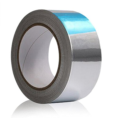164 Feet Long Aluminum Foil Tape, Multi-Purpose Heavy Duty Adehesive Tape Great for HVAC, Ducts Insulation and More (2inch, 55yds)