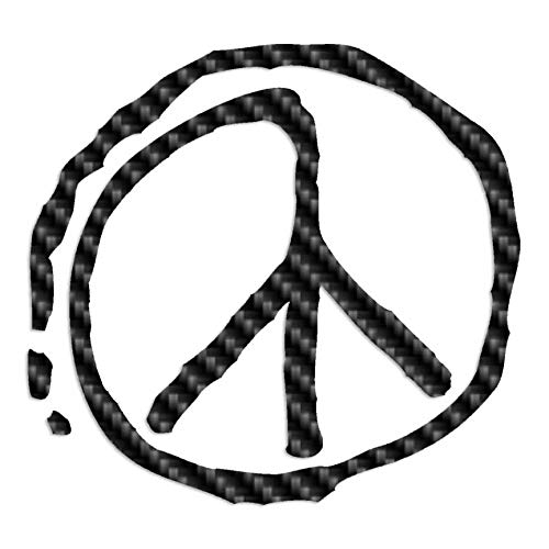 X-large Peace Sign (Peace Sign Paint - Vinyl Decal Sticker - 12.75