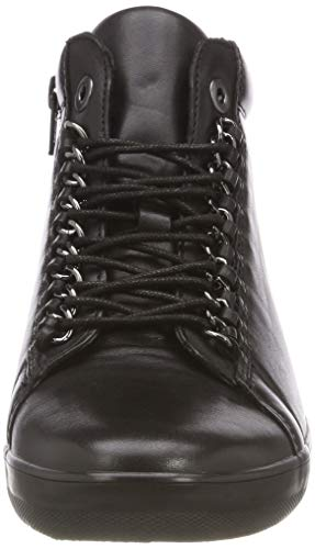 Basic de Gabor Shoes Comfort Zapatos Micro Schwarz Mujer Derby para 57 Negro Cordones Aaq4wUxEq
