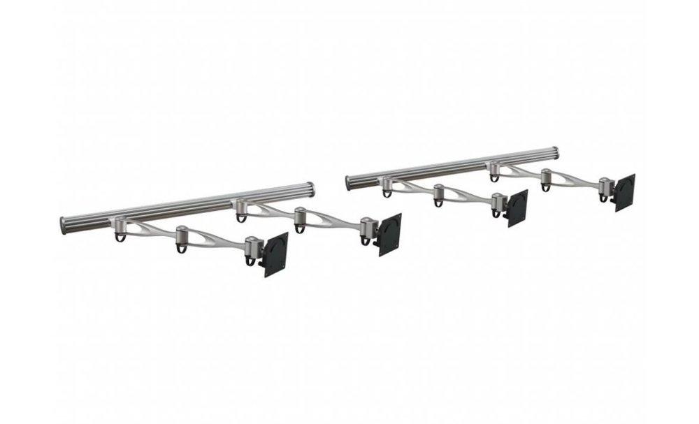 Cotytech Wandhalterung Doppelarm Wandhalterung für Monitore (Vier HMW - 41A2)