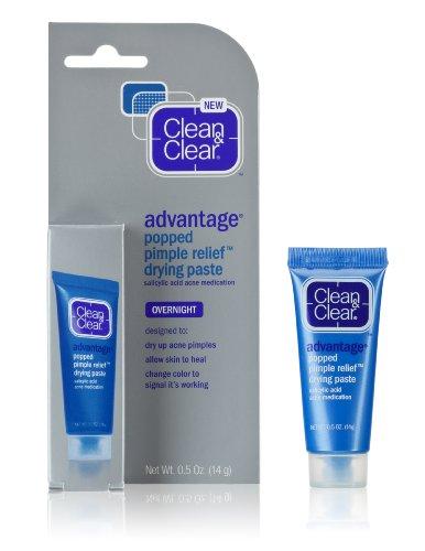 Clean & Clear Advantage sauté Relief Pimple de séchage Colle, 0,5 onces (pack de 2)