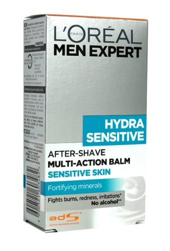 L'Oreal Paris - Men Expert Hydra Sensitive After-Shave Balm for Sensitive skin - 100ml or 3.4oz L' Oreal Paris
