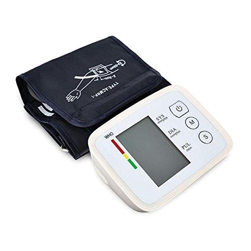 ZW Presión de Brazo para presión sanguínea y pulsera monitor electrónico recargable de tensiómetro Inglés Pa: Amazon.es: Salud y cuidado personal
