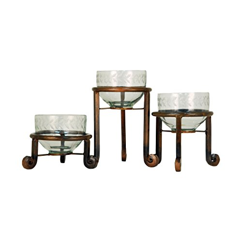 Traditional Décor Collection Telluride Set of 3 Botanas