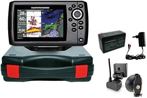 Humminbird Echolot Gps Portabel Basic Komplettsystem Helix 5 Chirp Gps G2 Sport Freizeit