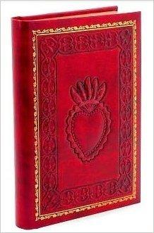 (Red Crest Emblem Heart Italian Leather Journal-(6