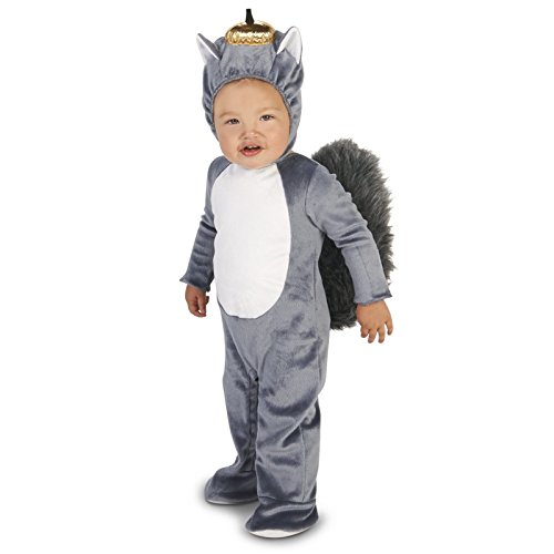 [Grey Squirrel Infant Dress Up Costume 18-24M] (Squirrel Halloween Costume)