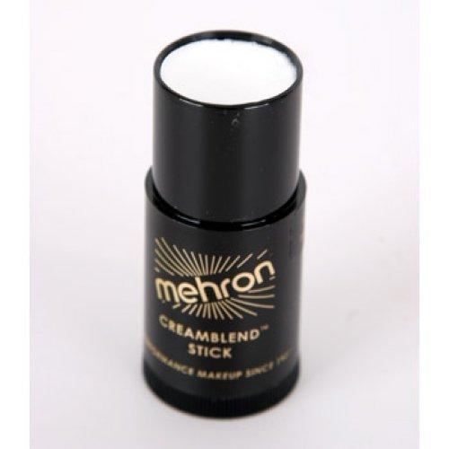 Mehron Creamblend Stick Makeup White, 4.3 Ounce ()