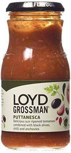 Loyd Grossman Puttanesca saus, 350 g