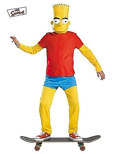 The Simpsons Bart Simpson Deluxe Child Costumes (Bart Simpson Deluxe Child Costume - Large)