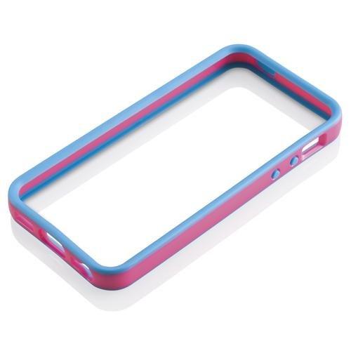 Gear4 IC508G New Band Schutzrahmen für Apple iPhone 5 blau/pink