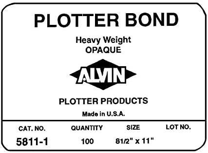 Alvin peso pesado opaco – Rollo Bond Bypass unidades 18 x 24 by Alvin: Amazon.es: Oficina y papelería
