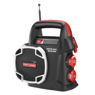 Craftsman 315.101260 19.2 Volt Am / FM / Auxiliary Weather R