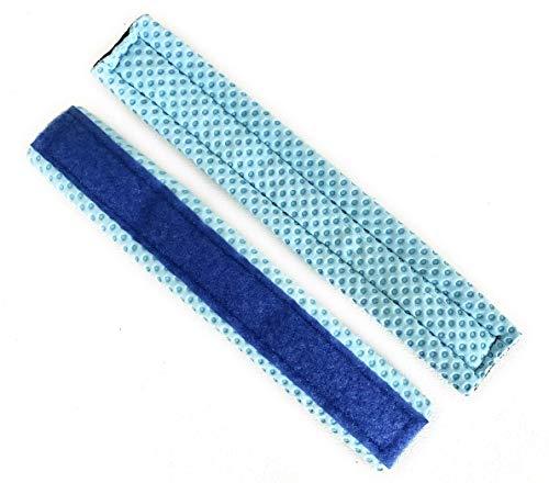 Fix My Gear Goalie Mask Chill Sweatband Light Blue (Two Pack)
