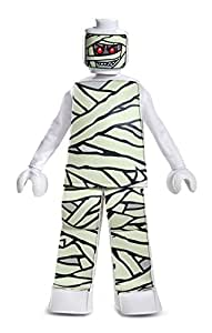 LEGO Mummy Prestige Costume, White, Large (10-12)