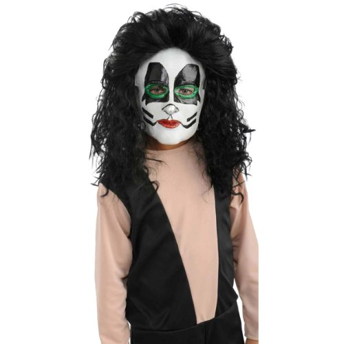 Kiss the Catman Adult Mask (Adult Kiss The Catman Costume)