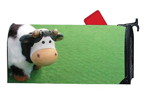 Tollyee Cute Cow Mailbox Covers Garden, Magnetic Mailbox Cover 9