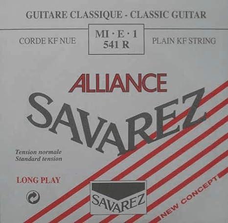 Savarez Cuerdas para Guitarra Clásica Alliance HT Classic 541R ...