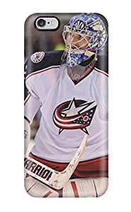 High Impact Dirt/shock Proof Case Cover For iphone 4s (columbus Blue Jackets Hockey Nhl (30) )