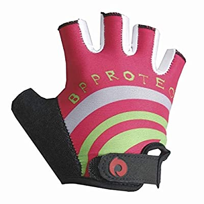 Kids Cycling Gloves Half Finger Bicycle Bike Gloves for Boys Girls Children Glove Shockproof Scooter Skateboard Glover : Sports & Outdoors