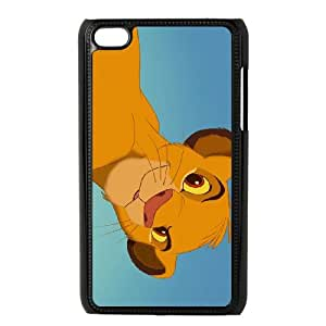 iPod Touch 4 Case Black Disney The Lion King Character Simba 002 OQ7615338