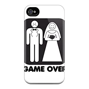 Durable Defender Cases For Iphone 6 Covers(game Over)