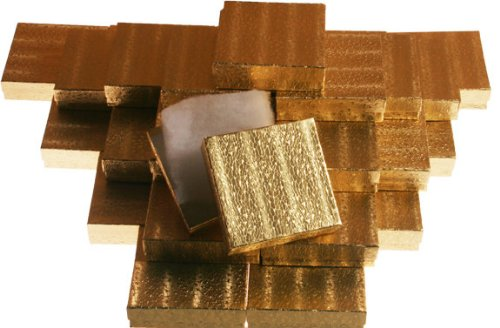 Gold Foil Jewelry Gift Boxes - 4