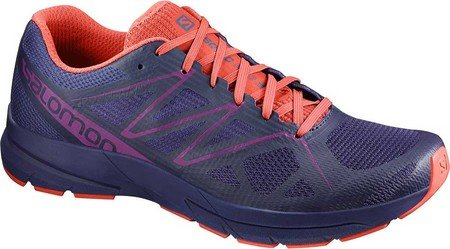 Salomon Sonic Pro 2 W, Zapatillas de Trail Running para Mujer, Azul (Astral Aura/Living Coral/Grape Juice), 36 EU