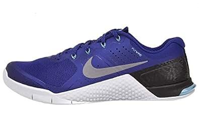 Nike Men's Metcon 2 Amp Holiday, Tide Pool Blue/Metallic Silver-Ice Cobalt Blue, 13 M US