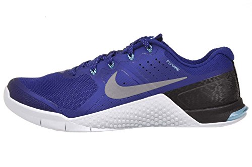 Nike Men's Metcon 2 Amp Holiday, Tide Pool Blue/Metallic Silver-Ice Cobalt Blue,...
