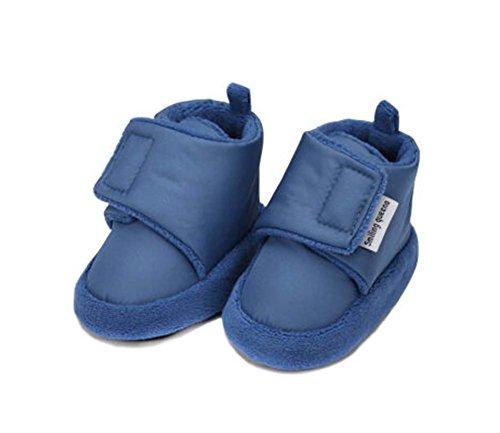 2PCS Cotton Schuhe Prewalker Kleinkind -Schuhe bequem und weich Anti-Rutsch-Schuhe