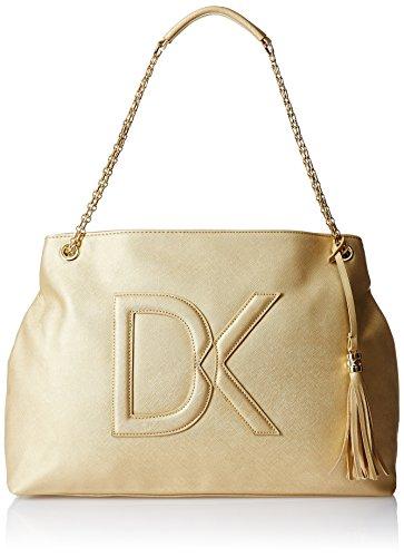 Diana Korr Women's Shoulder Bag (Gold) (DK16)