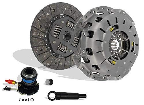Clutch And Slave Kit Works With Ford Ranger Mazda B2300 B2500 B3000 Bse Xl Xlt Limited Sport Stx Ds 1995-2011 2.3L L4 Gas Dohc 2.5L Gas Sohc L4 3.0L V6 Gas Ovh (Self-Adjusting Clutch Cover)