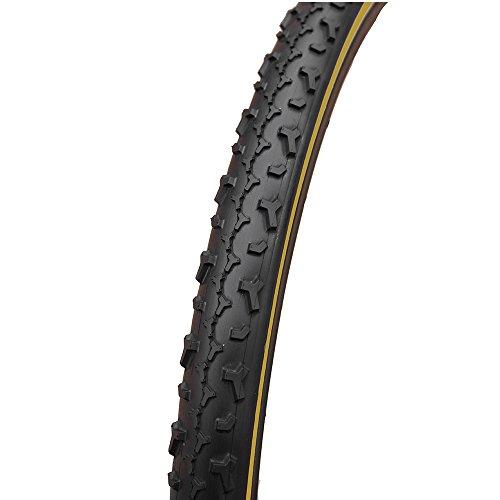 - Challenge Baby Limus 700c Tubular Bicycle Tire (Black/Tan - 700 x 33)