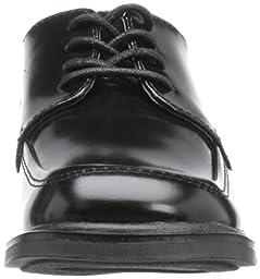 Kenneth Cole Reaction T-Flex Oxford (Little Kid/Big Kid),Black Leather,3.5 M US Big Kid
