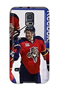 Defender Case For Galaxy S5, Florida Panthers (1) Pattern